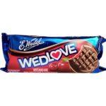 Wedel, Wedlove wiśniowe, wedlowskie biszkopty z galaretką w czekoladzie deserowej, copyright Olga Kublik