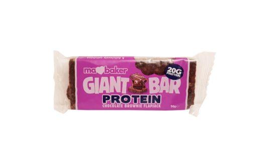 First Quality Foods, Ma Baker Giant Bar Protein Chocolate Brownie Flapjack, copyright Olga Kublik