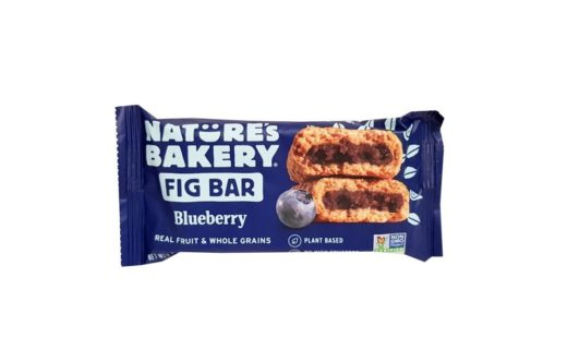 Nature's Bakery, Fig Bar Blueberry baton figowy z jagodami, copyright Olga Kublik