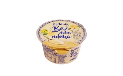Okręgową Spółdzielnia Mleczarska w Łowiczu, Pudding Bez deka mleka waniliowy, copyright Olga Kublik