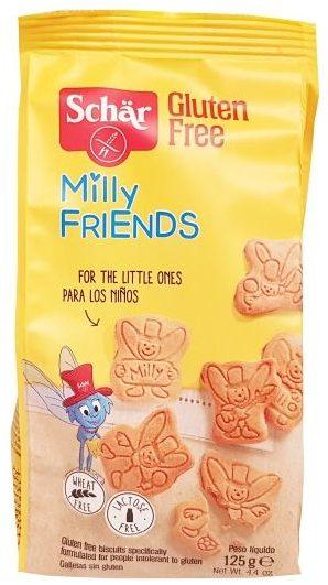 Schar, Gluten Free Milly Friends herbatniki bez glutenu dla dzieci, copyright Olga Kublik