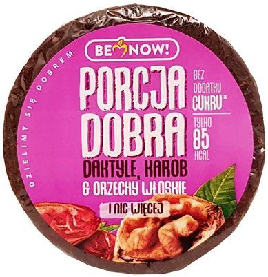 Be Now!, Porcja Dobra daktyle, karob orzechy włoskie, copyright Olga Kublik