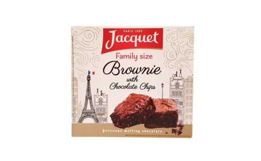 Jacquet, Family size Brownie with Chocolate Chips, copyright Olga Kublik