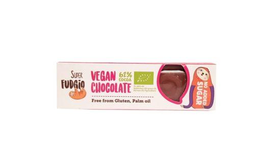 Me gusto, Super Fudgio BIO Vegan Chocolate 62% cocoa, copyright Olga Kublik