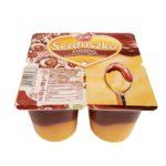 Zott, Serduszko Pudding o smaku waniliowym z sosem o smaku czekoladowym, copyright Olga Kublik