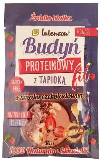 Intenson, Budyń proteinowy fit z tapioka o smaku czekoladowym, copyright Olga Kublik