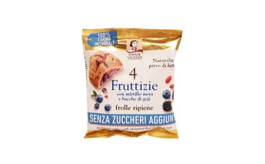 Matilde Vicenzi, 4 Fruttizie pełnoziarniste ciastka bez cukru z owocami, copyright Olga Kublik
