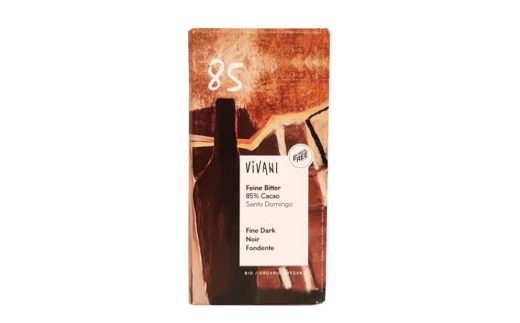 Vivani, Feine Bitter 85% Cacao Santo Domingo, ekologiczna czekolada gorzka, copyright Olga Kublik