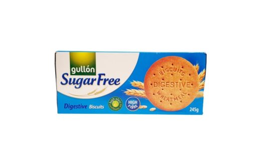 Gullon, Sugar Free Digestive Biscuits pelnoziarniste ciastka bez cukru, copyright Olga Kublik
