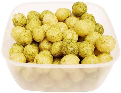 Biopont, Organic rice balls Spinach leek flavoured, ekologiczne chrupki szpinakowo-porowe, copyright Olga Kublik