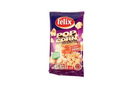 Felix, Popcorn karmelowy do mikrofalówki, copyright Olga Kublik