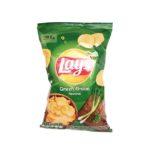 Frito Lay, Lay's Green Onion flavoured chipsy cebulowe, copyright Olga Kublik