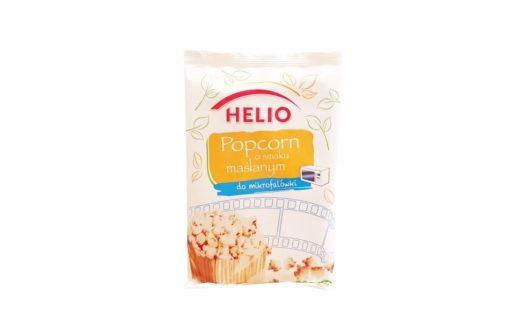 Helio, Popcorn maślany do mikrofalówki, copyright Olga Kublik