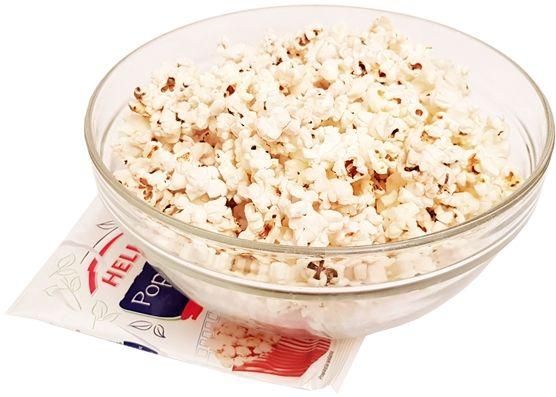 Helio, Popcorn solony do mikrofalówki, copyright Olga Kublik