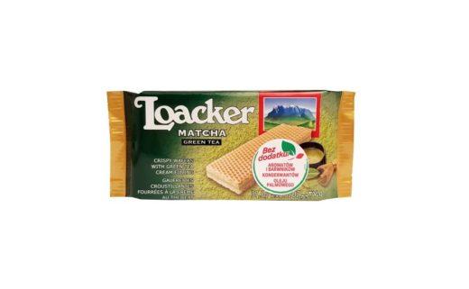 Loacker, Wafers Matcha Green Tea, wafle zielona herbata, copyright Olga Kublik