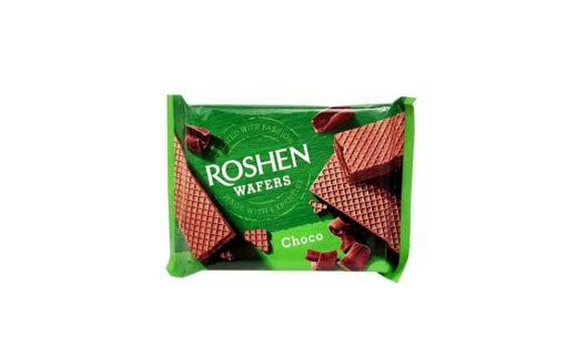 Roshen, Wafers Choco wafle kakaowe, copyright Olga Kublik