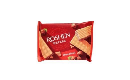 Roshen, Wafers Hazelnut wafle orzechowe, copyright Olga Kublik