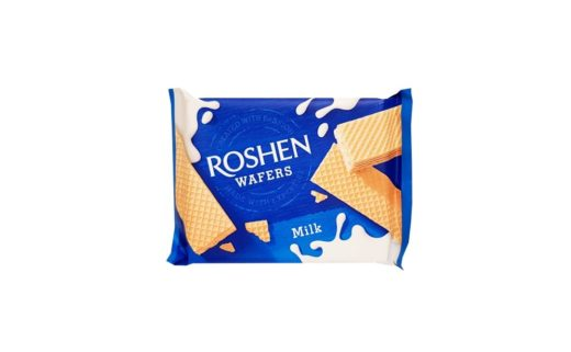 Roshen, Wafers Milk wafle mleczne, copyright Olga Kublik