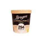 lody Breyers, Vegan Dairy Free Caramel Pecan 294 kcal, copyright Olga Kublik
