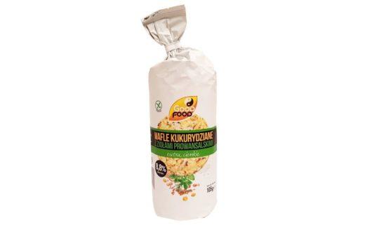 Good Food, Wafle kukurydziane z ziołami prowansalskimi extra cienkie, copyright Olga Kublik