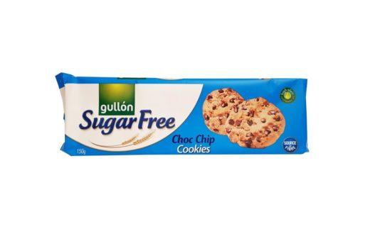 Gullon, Sugar Free Choc Chip Cookies ciastka amerykańskie bez cukru z czekoladą, copyright Olga Kublik