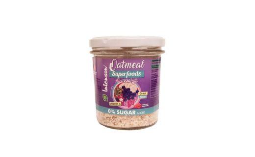 Intenson, owsianka Oatmeal Superfoods Acai Goji, copyright Olga Kublik