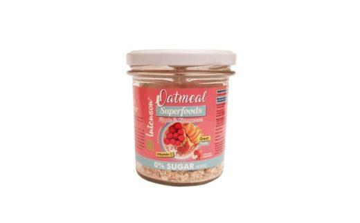Intenson, owsianka Oatmeal Superfoods Apple Cinnamon, copyright Olga Kublik