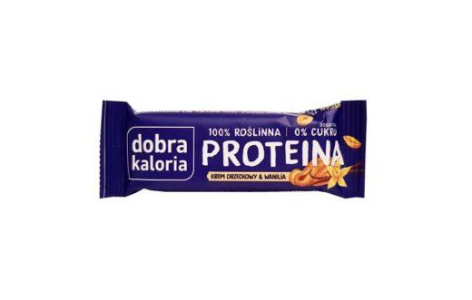 Kubara, Dobra Kaloria Proteina Krem orzechowy Wanilia, copyright Olga Kublik