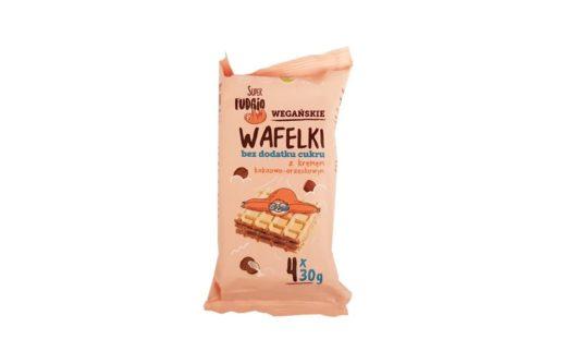 Me gusto, Super Fudgio Wegańskie Wafelki z kremem kakaowo-orzechowym bez dodatku cukru, copyright Olga Kublik