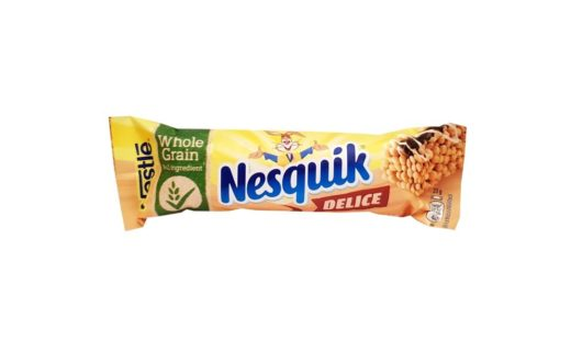 Nestle, Nesquik Delice batonik, copyright Olga Kublik